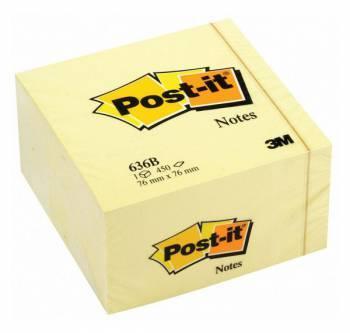 Блок самоклеящийся 3M Post-it 636B 7000033840 желтый 450 листов