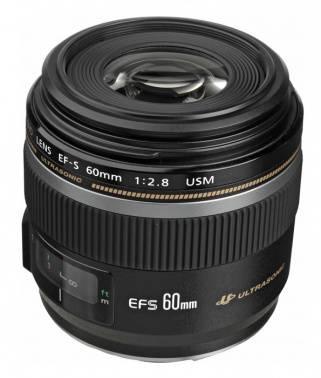 Объектив Canon EF-S USM 60mm f/2.8 (0284B007)