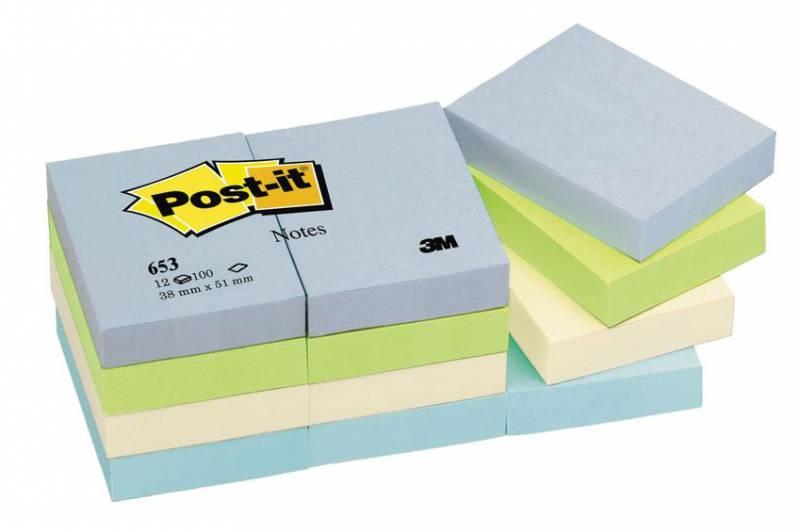 Бумага для заметок 3M Post-it 653-ML Гармония баланса - фото 1
