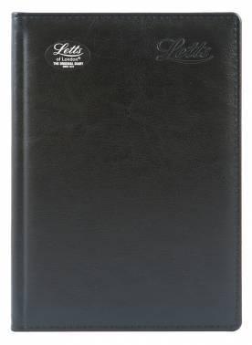 Ежедневник Letts Global De-Luxe черный (412 127010)
