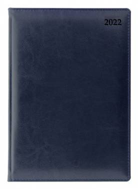 Ежедневник Letts GLOBAL DELUXE синий (412 127220)