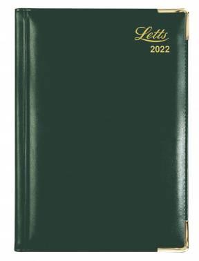 Ежедневник Letts LEXICON (PU) зеленый
