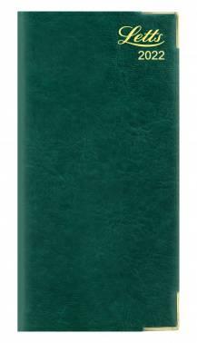 Еженедельник Letts LEXICON (PU) зеленый