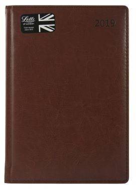 Ежедневник Letts UMBRIA коричневый