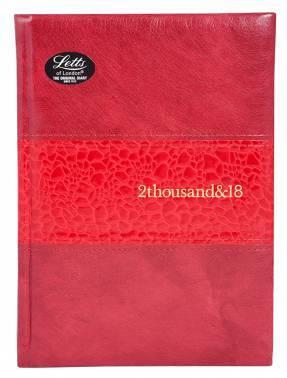 Ежедневник Letts MANHATTAN красный