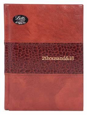 Ежедневник Letts MANHATTAN коричневый