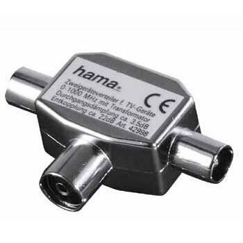 Адаптер Hama H-42998 Coax (f) / 2xCoax (m)