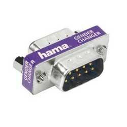 Переходник Hama Serial 9pin-D (m-m) компактный (H-41970) - фото 1