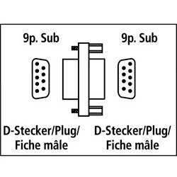 Переходник Hama Serial 9pin-D (m-m) компактный (H-41970) - фото 2
