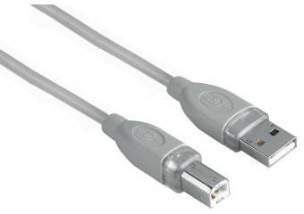 Кабель Hama H-45022 USB A(m)/USB B(m) 3м. (00045022) - фото 1