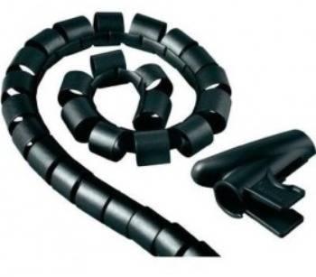 Кабель-органайзер Hama H-20603 0.15м черный (00020603)