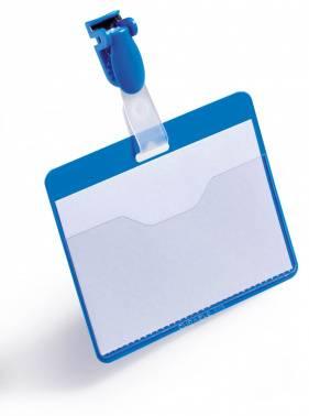 Бейдж Durable 8106-06 синий