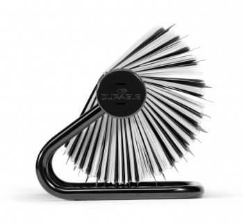 Визитница Durable Visifix 2481-01 104х72мм (400 визиток) вклад.:200шт. черный