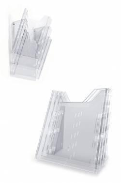 Информационная стойка Durable Combiboxx А4 L (+ модуль) A4 прозрачный