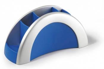 Подставка Durable 7720-23 Vegas серебристый/синий