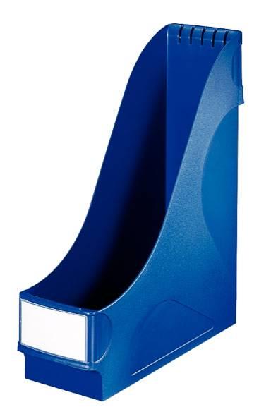 Подставка Esselte 24250035 для журналов синий пластик - фото 1