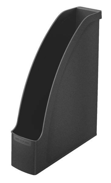 Лоток вертикальный Esselte 24760095 Plus черный пластик - фото 2