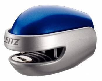 Степлер Esselte Leitz Allura голубой / серебристый