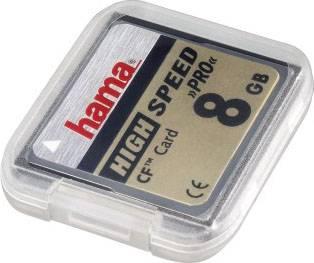 Футляр Hama H-49921 QuadCase для карт памяти 1хSD и 1хММС пластик прозрачный  - фото 1