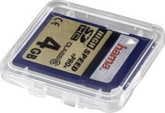Футляр Hama H-95949 Slim для карты памяти SD прозрачный  - фото 2