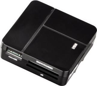 Картридер USB2.0 Hama 00094124 черный