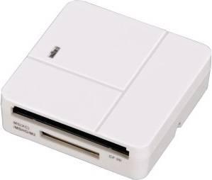 Картридер USB2.0 Hama H-94125 белый