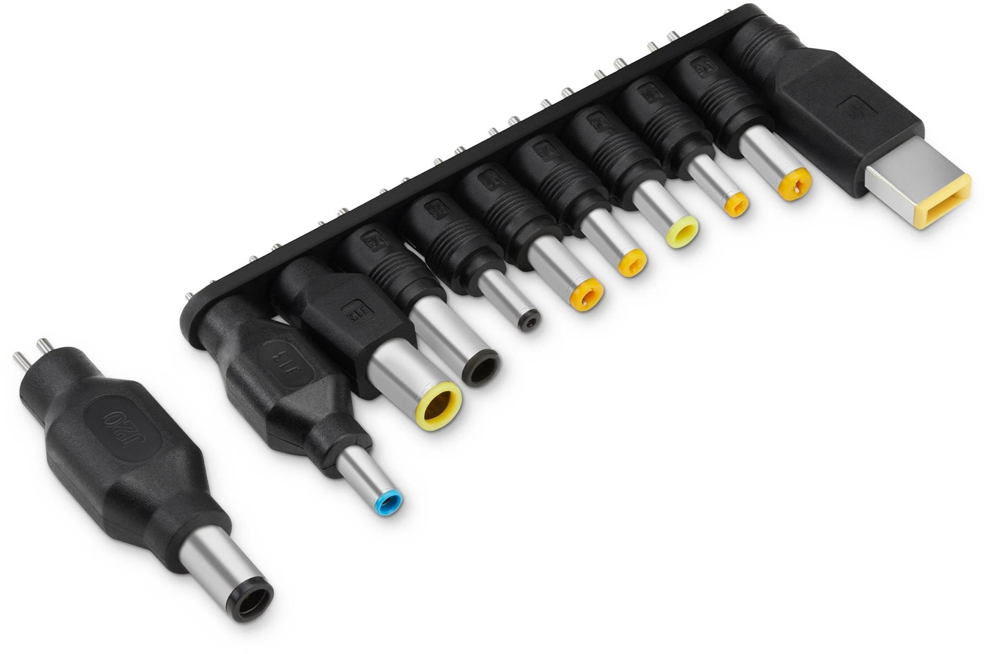 Блок питания для ноутбука Buro BUM-1187H90 черный - фото 3