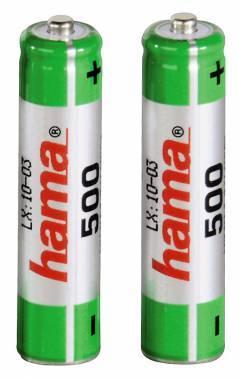 Аккумулятор AAA Hama Universal 46565 (2шт)