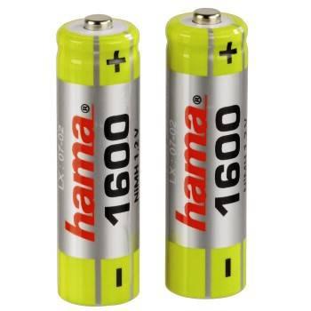 Аккумулятор AA Hama Universal H-46572 (2шт. уп) - фото 2