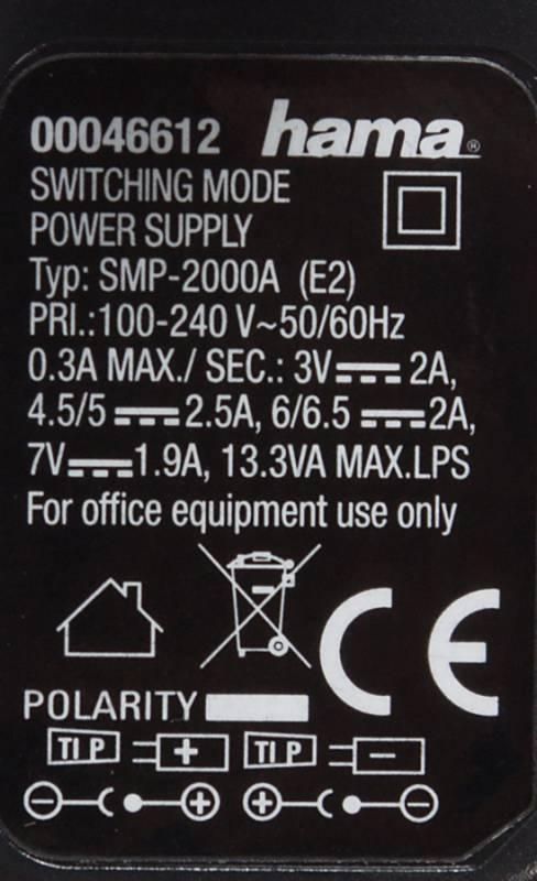 Блок питания для ноутбука Hama H-46612 черный (00046612) - фото 5
