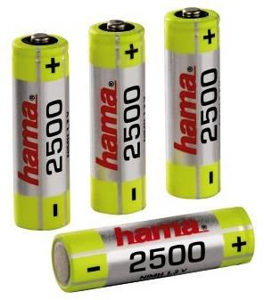 Аккумулятор AA Hama H-87056 (4шт. уп) - фото 1