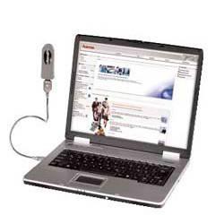 Кабель USB Hama A-B (m-f) Goose Neck 0.4м хромированный (H-39745) - фото 2