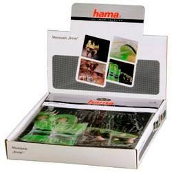 Коврик для мыши Hama Drinks 4 color 230х190х1мм шелк/резина (H-52236) - фото 1
