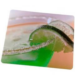 Коврик для мыши Hama Drinks 4 color 230х190х1мм шелк/резина (H-52236) - фото 3