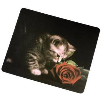 Коврик для мыши Hama H-54759 Cat текстильная поверхность  - фото 1