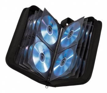 Портмоне Hama на 64CD/DVD H-11616 черный (в упаковке:1шт) (00011616)