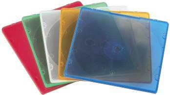 Коробка Hama на 1CD/DVD H-11712 Slim Box разноцветный (в упаковке:20шт) (00011712)