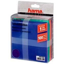 Конверт Hama на 1CD / DVD H-33802 разноцветный (упак.:100шт)