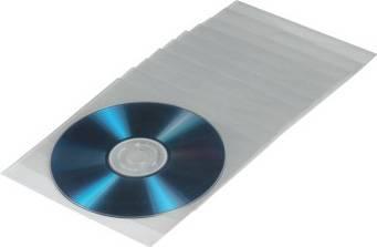 Конверт Hama на 1CD/DVD H-33810 прозрачный (в упаковке:100шт) (00033810)