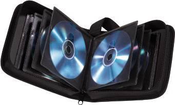 Портмоне Hama на 20CD/DVD H-33830 черный (в упаковке:1шт) - фото 2