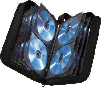 Портмоне Hama на 120CD/DVD H-33833 черный (в упаковке:1шт) - фото 2
