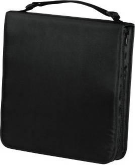 Портмоне Hama на 160CD/DVD H-33834 черный (в упаковке:1шт) - фото 1