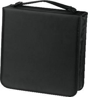 Портмоне Hama на 208CD/DVD H-33835 черный (в упаковке:1шт) (00033835)