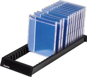 Подставка Hama H-48107 Flipper для CD 22шт пластик черный  - фото 1