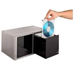 Коробка Hama H-48319 для 120 CD Magic Touch серебристый  - фото 2