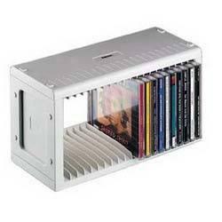 Подставка Hama на 20CD/DVD H-48402 серебристый (в упаковке:1шт) (00048402)