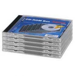 Коробка Hama H-48433 Jewel Case для CD 5шт пластик прозрачный  - фото 1