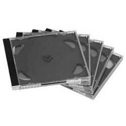 Коробка Hama H-48433 Jewel Case для CD 5шт пластик прозрачный  - фото 3