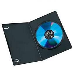 Коробка Hama H-51071 для 1 DVD Slim 10 шт. черный  - фото 2