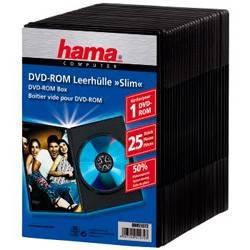 Коробка Hama H-51072 для DVD Slim Box 25шт.  - фото 1